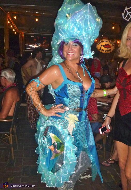 Seahorse Siren Costume