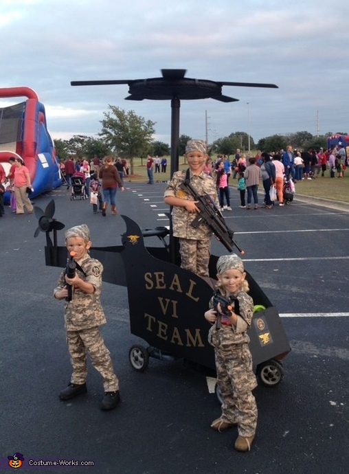 Seal Team VI Costume