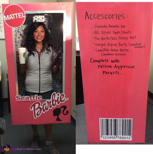 The Seattle Barbie, Seattle Barbie Costume