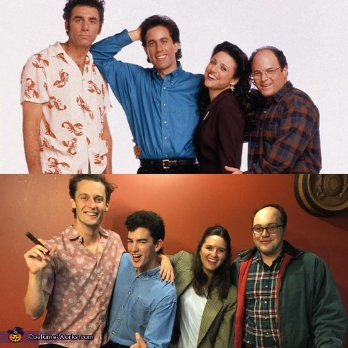 Seinfeld, Seinfeld Characters Costume
