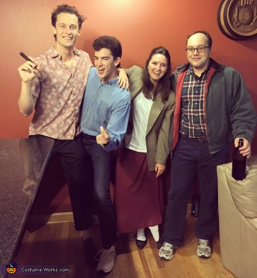Seinfeld Characters Costume