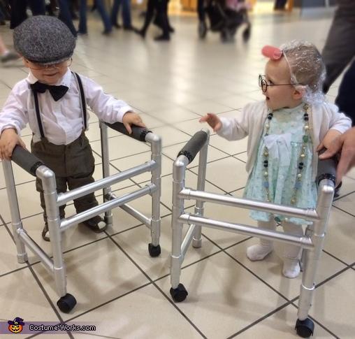 Seniors Herbert & Gertrude Costume