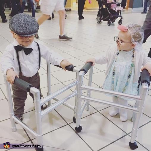 Seniors Herbert & Gertrude Homemade Costume