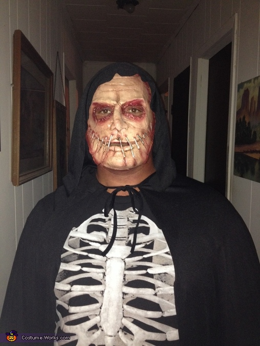 Serial Killer Homemade Costume