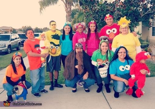 Sesame Street Family!, Sesame Street Family Costumes