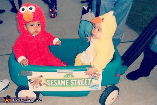 The babies in our Sesame Street Family!, Sesame Street Family Costumes