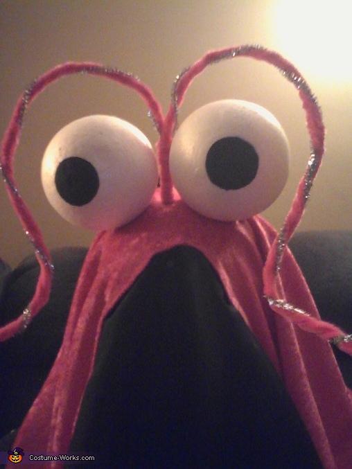 Martian Selfie, Sesame Street Yip Yip Martian Costume