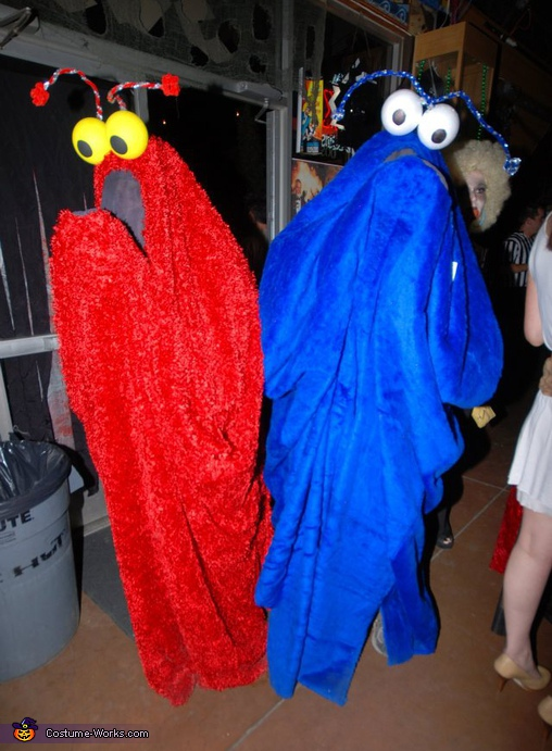 Sesame Street Yip Yips! - Homemade costumes for couples