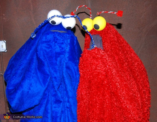 last one. Sesame Street Yip Yips! - Homemade costumes for couples