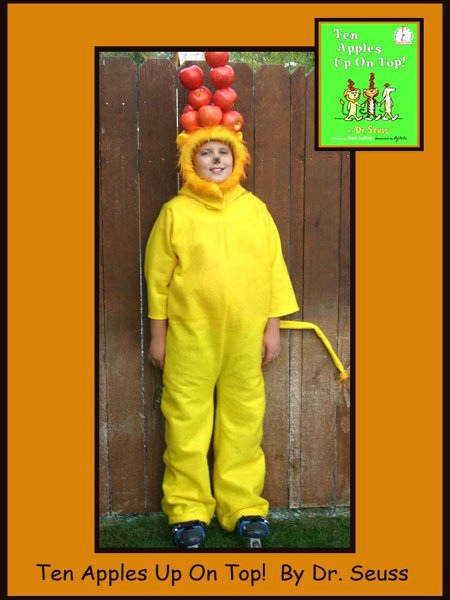 Dr. Seuss Book Characters Costume