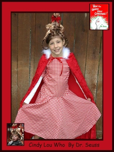 Kamryn - Cindy Lou Who, Dr. Seuss Book Characters Costume