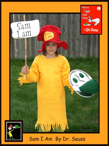 Paige - Sam I Am, Dr. Seuss Book Characters Costume