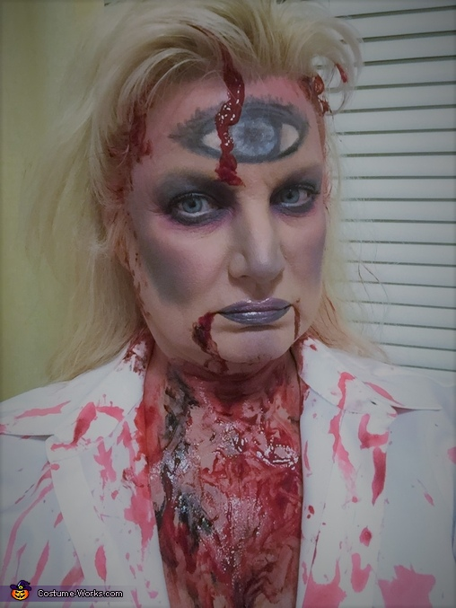 Severed Victim Homemade Costume