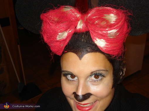 Hair Bow, Sexy Minnie Mouse Costume