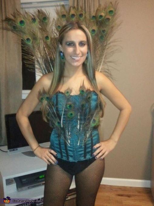 Sexy Peacock Costume