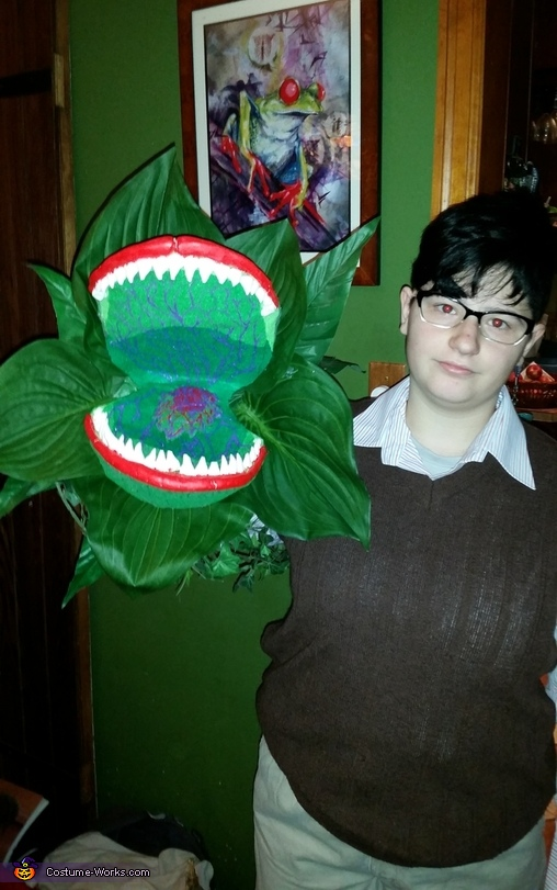Seymour and Audrey II Homemade Costume