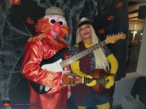 Sgt. Floyd Pepper and Janice from Muppets Costume