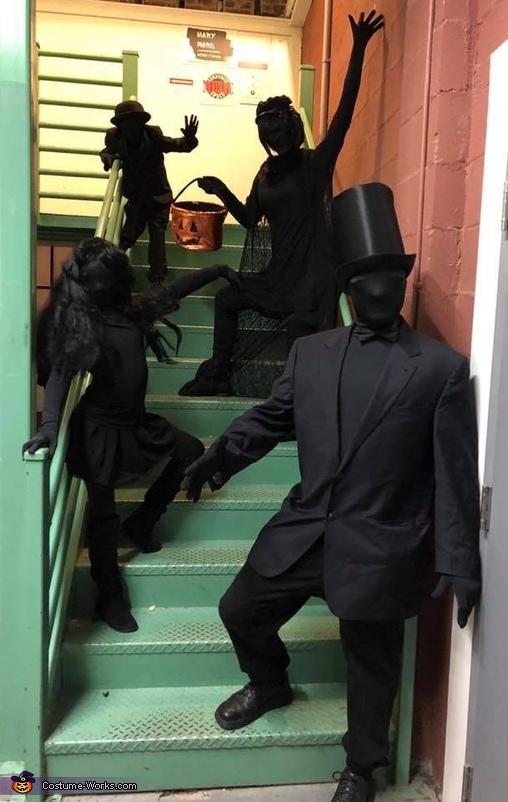 Shadow People Costume