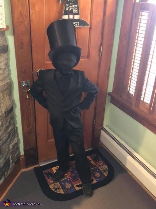Shadow People Homemade Costume