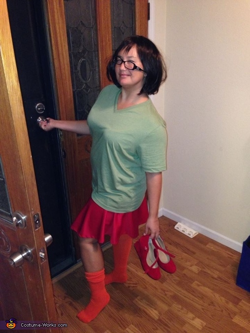 Walk-of-Shame Velma...haha!, Shaggy and Velma Couples Costume