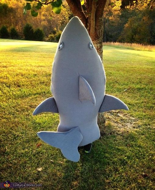 Shark Homemade Costume