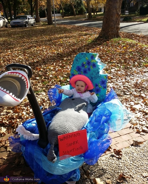 Look shark!, Shark Attack Costume