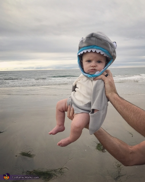 Are we done yet?!, Shark Attack Costume