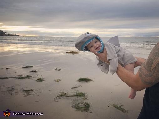 Baby Maverick, Shark Attack Costume