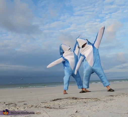 Land Sharks, Shark Family Costume