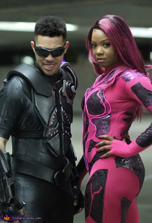 SharkBoy and LavaGirl Costume