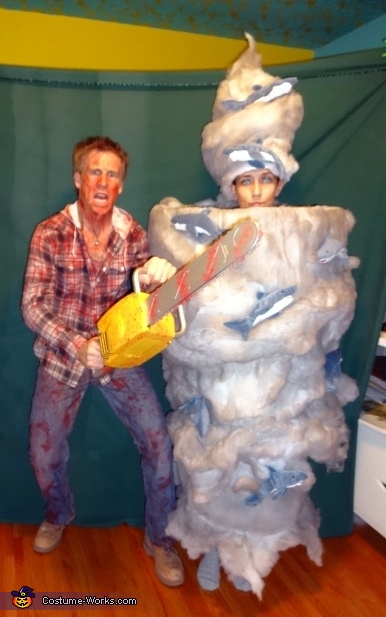 Sharknado costume - photo#15