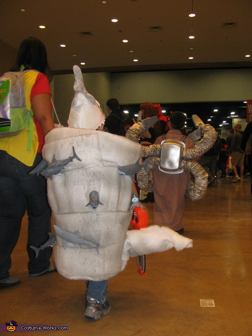 back View, Sharknado Costume