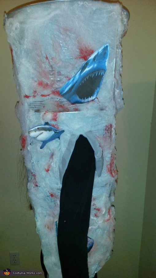 Right Side of Costume, Sharknado Costume