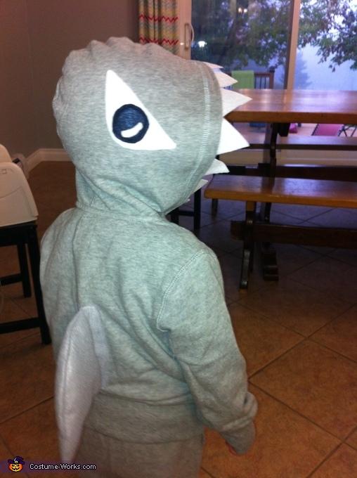 Sharks Attack Homemade Costume