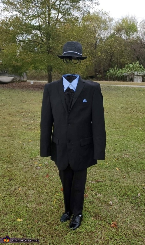 Sharp Dressed Invisible Man Costume