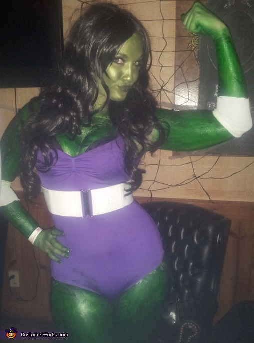 : she hulk costume  - Germanpascual.Com