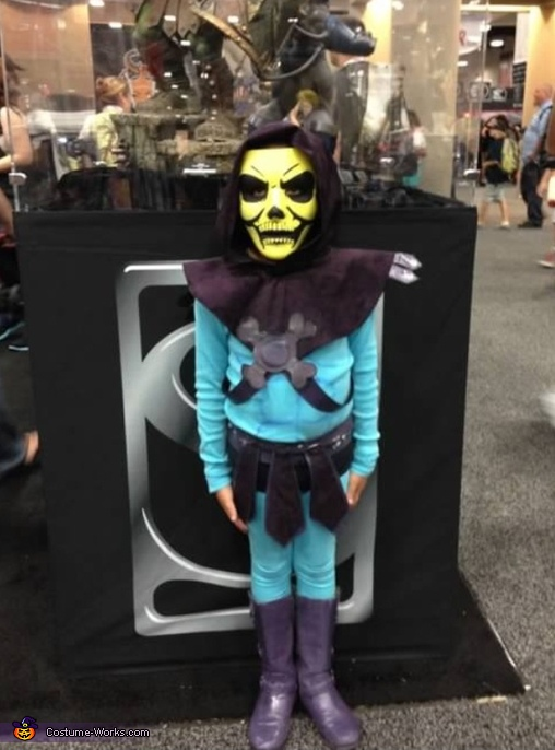 My son, She-Ra and Skeletor Costume