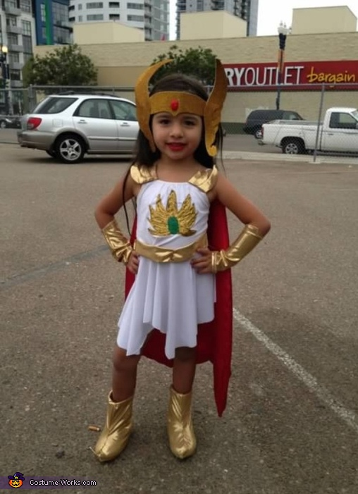 My daugher, She-Ra and Skeletor Costume