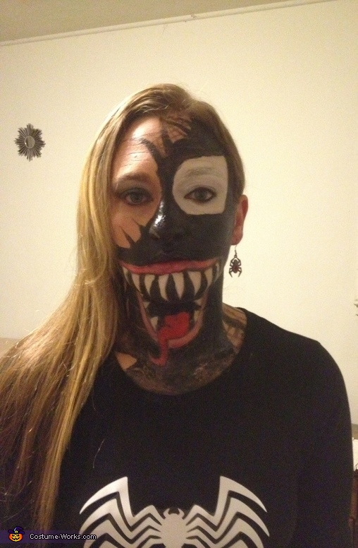 She-Venom Homemade Costume
