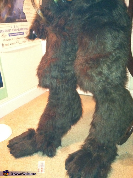 digigrade legs, She-Werewolf Costume
