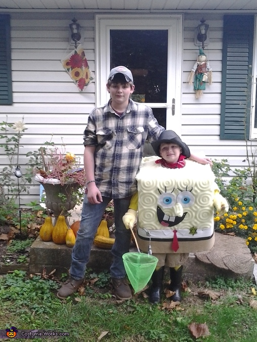 Sheriff Spongebob Homemade Costume