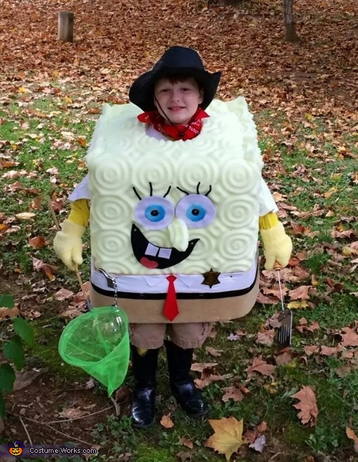Sheriff Spongebob Costume