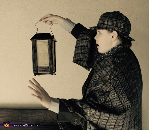 Stop right there, sir!, Sherlock Holmes Costume