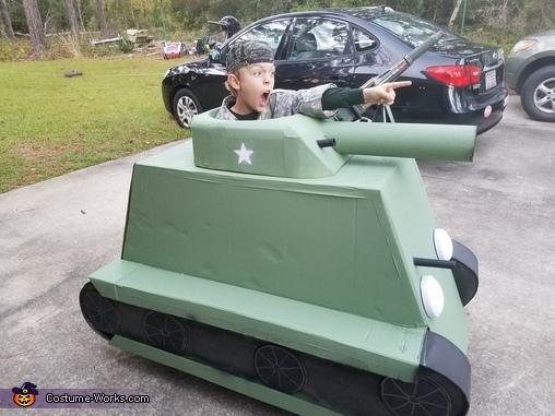 Sherman Tank Costume