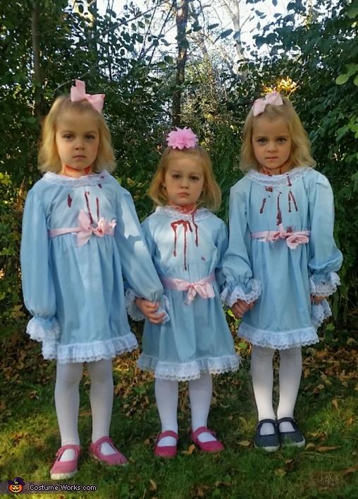 Shining Triplets Costume