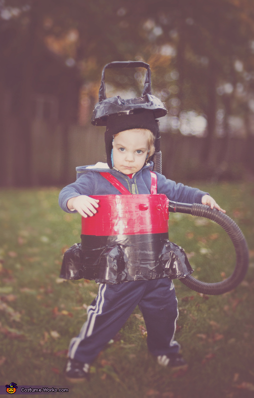 Shop Vac Boy Costume