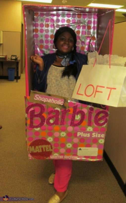 Shopaholic Barbie Costume