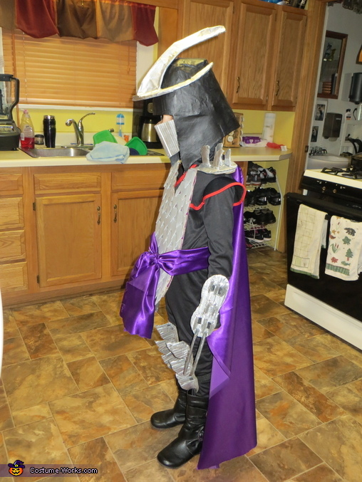 Homemade Shredder Costume