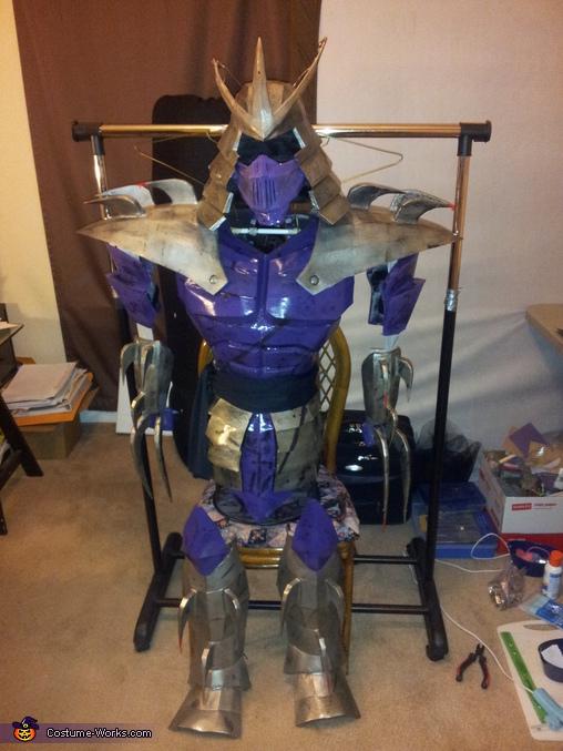 complete costume , TMNT Shredder Costume