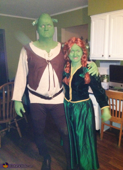 sc 1 st  Costume Works & Shrek u0026 Fiona Couple Costume